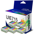 5 SETS INK CARTRIDGES REPLACE FOR T0711 - T0714 T0715 PRINTER ( NOT GENUINE )