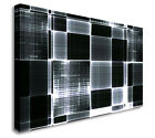 Abstract Black And White Pattern Wall Picture Canvas Prints Art Cheap