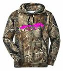 REALTREE CAMO CAMOUFLAGE JUST RIDE HOODIE SWEAT SHIRT HORSE JACKET