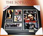 "NEW! ""THE SOPRANOS"" Movie MEMORABILIA SIGNED FRAMED LIMITED EDITION 499 w C.O.A"