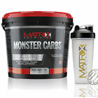 8KG MATRIX MONSTER CARBS WEIGHT GAINER ANABOLIC WHEY LEAN GAIN - ALL FLAVOURS