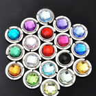 New Fashion Crystal Folding Purse Hook Handbag Hanger Holder 17 Colors D014