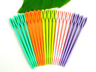PLASTIC SEWING NEEDLES CHILDRENS NEEDLES 7CM CROSS STITCH KNITTING DARNING BINCA