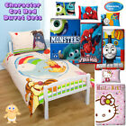 Licensed Character Cot Bed / Toddler Bedding Set - Duvet Cover and Pillowcase