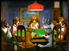 Dog poker game  Glossy Photographic print  A5 or A4 playing cards. dice