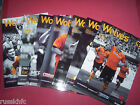 2009/10 - WOLVES HOME PROGRAMMES CHOOSE FROM