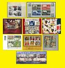 2005 Miniature Sheet Issues of Great Britain each Sold Separately Mint nh
