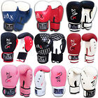 Rex Leather Boxing Gloves Sparring Punch Bag Pads Grappling MMA Gloves