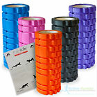 TRIGGER POINT FOAM ROLLER GRID SPORTS MASSAGE EXERCISE YOGA PHYSIO - FREE GUIDE