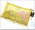 *100% NEWEST ARRIVAL OVERSIZED MESH COSMETIC MAKEUP BAG * VIP NEW EDITION
