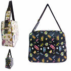 New Collection Comic Print Satchel Anna Smith Shoulder Messenger Bag College