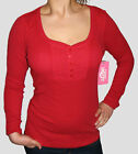 LADIES PIPING HOT RIBBED TOP CHERRY SZ 8