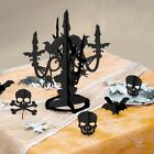 Halloween Party Tableware Decorations Plates Bowls Cups Napkins Tablecloths Cake