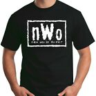 New World Order T-Shirt nWo Logo WCW Professional Wrestling Size S-6XL