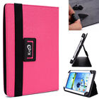Kroo Magenta Universal Adjustable Folio Stand Cover for 9 Tablets & E-Readers