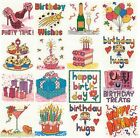 DMC Birthday Mini Kits Cross Stitch Kit 14ct - CHOICE OF 16 DESIGNS