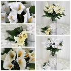 84 Silk Calla Lily Flowers for Wedding Bouquets Centerpieces Wholesale CHEAP
