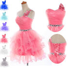 Mini Short Dress Sexy Prom Gowns Wedding Bridesmaid Evening Ball Party Cocktail