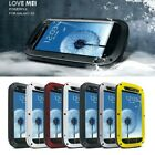 Aluminum Metal Shock Water Proof Case Cover for Samsung Galaxy S3 S III i9300 YQ