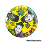 "De La Soul ""3 Feet High and Rising"" Pin Button Badge Fridge Magnet (Hip Hop)"