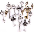 New 100g(about 90pcs) Lots Mixed Key Charm Pendants For Craft Random