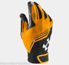 Under Armour Mens UA Clean Up V Batting Gloves STEELTOWN GOLD 1243731 per pair