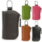 Genuine Leather Wallet Men's Car Key Holder bag Accessory 6 Key Chain case