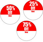 Sale Price stickers for shop and retail 2000 of your choice 4 rolls 30mm