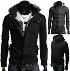 Men's Winter Casual Puffer Parka Cotton Paded Quilted Hoodie Hooded Jacket Coat