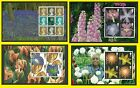2004 Glory of the Garden Prestige Panes from Booklet DX33, sold separately