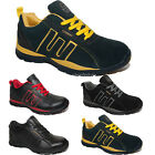 MENS LADIES SAFETY STEEL TOE CAP BOOTS GROUNDWORK TRAINERS LOW CUT LACE SHOES