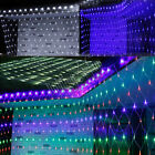 New Arriver 210/320 LED Christmas Fairy Net Light + 8 Mix Multi Changing Effect