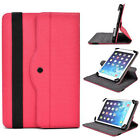 Kroo M1 Rotating Universal Adjustable Folio Stand Cover for Tablets & E-Readers