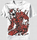 New The Amazing Spider-Man Carnage Drawing Artwork T-shirt top Marvel Comics