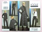 Vogue V1132 Sewing Pattern Misses' Semi-Fitted Jacket, Skirt & Trousers - Easy