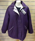 Ladies JBC Collection Purple Zipper Jacket RRP £39.99 Brand New With Tags