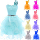 Short Prom Wedding Cocktail Dress Evening Party Ball Gown Bridesmaid Graduation