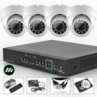 4 Sony CCD Security Colour Camera 8 Channel Full D1 CCTV System Wireless H.264
