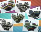 Handmade 100% Wool Fingerless Warm Gloves with Mitten Cover Fleeced Lined. copy