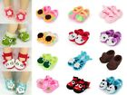 Lovely Cartoon Baby Infant Handmade Crochet Knit Flower Socks Crib Shoes Slipper