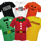 Fancy Dress T-Shirt Funny Costume Outfit