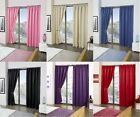 Pair Of Thermal Blackout Pencil Pleat Curtains