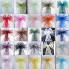 150 Chair Organza Sash Wedding Party Decor Colors U Pick Supply New