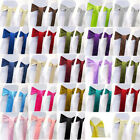 """6"""" x 108"""" Satin Chair Cover Sash Bow Decor Wedding - 25+ Colors to choose from!"""