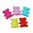 42g (approx 80) Teddy Bear Beads size approx 12x14mm