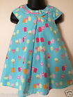 BNWOT ex George Pretty Fully lined Cotton Summer Ice Cream Print Dress