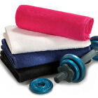 Deluxe 100% Pure Cotton Gym Towels, Sports, Fitness, Travel, Camping, 4 Colours