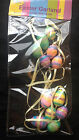 Easter Glitter Hanging 3D Garlands Easter Eggs or Butterflys  2 metres long