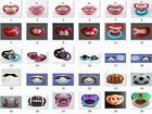 FUNNY DUMMY DUMMIES PACIFIER NOVELTY TEETH Moustache Vampire BABY CHILD SOOTHER