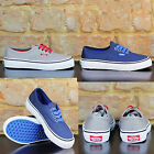 Vans Kids Authentic Trainers Pumps Brand new box in UK Size 10,11,12,13,3